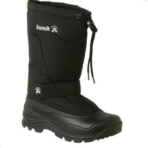 Kamik Women's Black Insulated Winter Boots Size 7